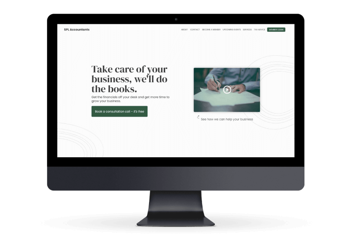 Flowy Studio - Web Design and SEO project for SPL Accountants