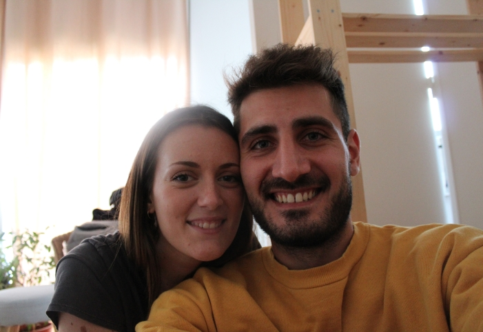 Picture of Charlotte Busquet and Damian Dodino, founders of Flowy Studio