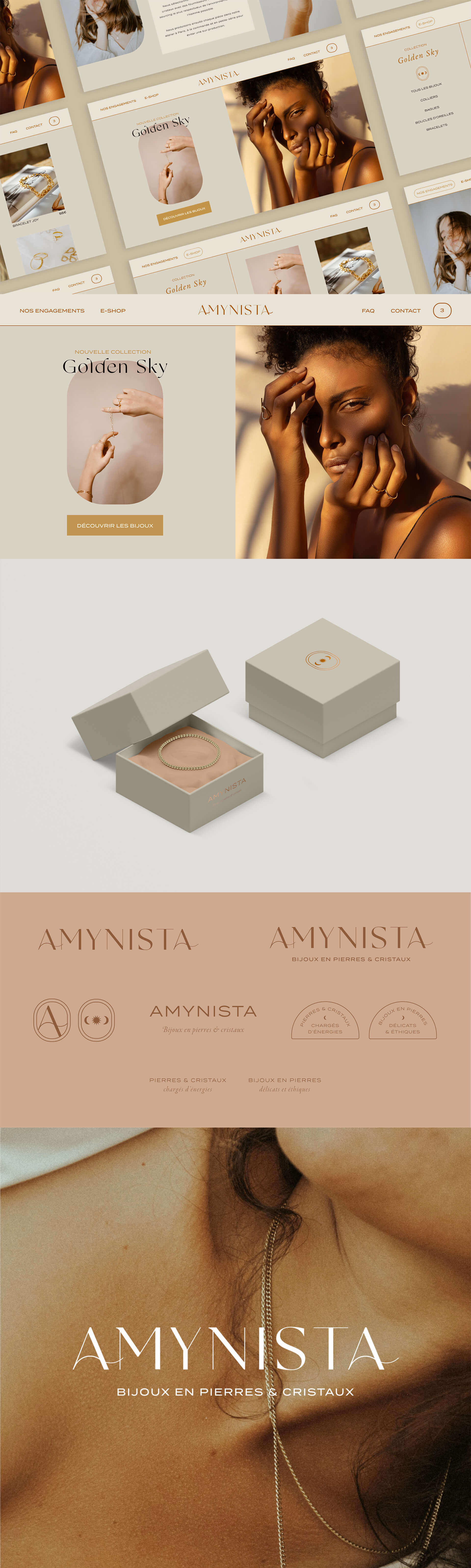 Preview image for web design and SEO project for Amynista
